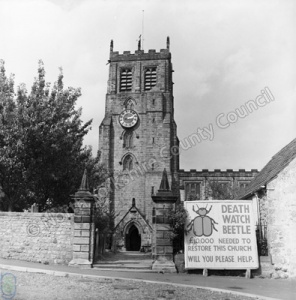 Bedale Church, 1968
